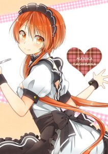 Rating: Safe Score: 36 Tags: maid nisekoi tachibana_marika tarachine waitress User: Mr_GT