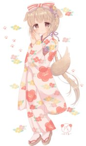 Rating: Safe Score: 24 Tags: animal_ears kimono roromi tail the_idolm@ster the_idolm@ster_cinderella_girls yorita_yoshino User: animeprincess