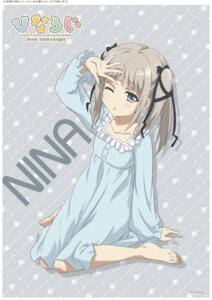 Rating: Safe Score: 38 Tags: hina_logi_~from_luck_&_logic~ nina_alexandrovna pajama User: saemonnokami