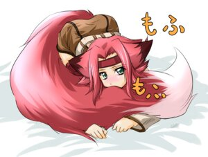Rating: Safe Score: 19 Tags: animal_ears code_geass kallen_stadtfeld kazami_karasu kitsune tail User: Radioactive