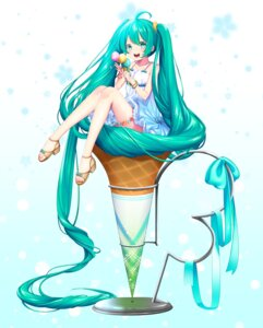 Rating: Safe Score: 36 Tags: dress garter hatsune_miku heels vocaloid yoridoriyk User: Mr_GT