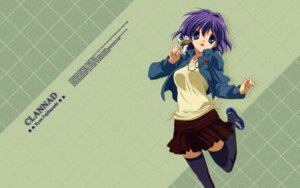 Rating: Safe Score: 20 Tags: clannad fujibayashi_ryou thighhighs wallpaper User: SHM222