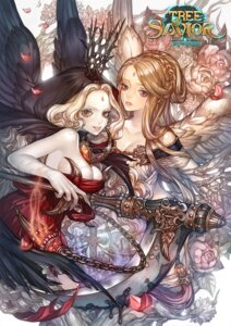 Rating: Safe Score: 22 Tags: cleavage dress maggi tree_of_savior weapon wings User: blooregardo