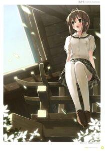 Rating: Safe Score: 25 Tags: amatsume_akira kantoku seifuku thighhighs yosuga_no_sora User: Twinsenzw
