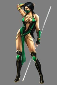 Rating: Questionable Score: 25 Tags: cg cleavage jade leotard mortal_kombat mortal_kombat_(2011) ninja thighhighs transparent_png weapon User: Radioactive