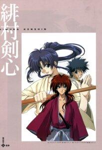 Rating: Safe Score: 4 Tags: himura_kenshin kamiya_kaoru myoujin_yahiko rurouni_kenshin User: Feito