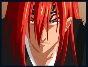 Rating: Safe Score: 5 Tags: abarai_renji bleach male vector_trace User: charunetra