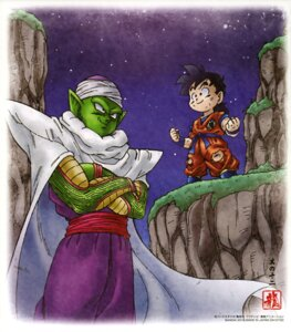 Rating: Safe Score: 8 Tags: dragon_ball piccolo son_gohan User: drop