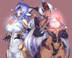 Rating: Questionable Score: 48 Tags: akinaie cameltoe cleavage dress erect_nipples kos-mos leotard no_bra nopan t-elos underboob xenosaga xenosaga_iii User: Mr_GT