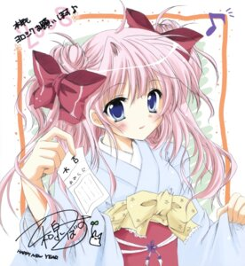 Rating: Safe Score: 30 Tags: autographed izumi_tsubasu k-books yukata User: Radioactive
