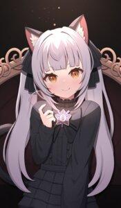 Rating: Safe Score: 18 Tags: animal_ears dress gothic_lolita hololive lolita_fashion murasaki_shion nekomimi starfox1015 User: Mr_GT