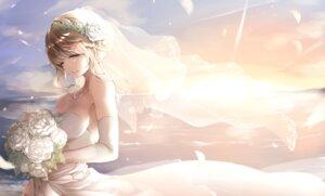 Rating: Safe Score: 38 Tags: cleavage dress tagme wedding_dress User: hiroimo2