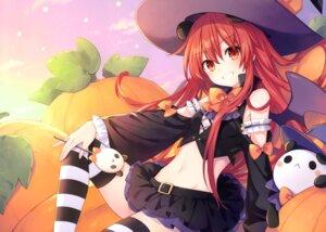 Rating: Safe Score: 34 Tags: animal_ears halloween thighhighs tsunako wings witch User: kiyoe