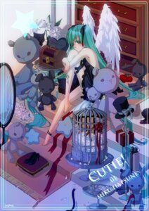 Rating: Safe Score: 12 Tags: aoko dress hatsune_miku vocaloid wings User: yumichi-sama
