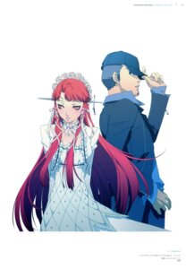 Rating: Safe Score: 6 Tags: dress iori_junpei megaten persona persona_3 soejima_shigenori yoshino_chidori User: Aurelia