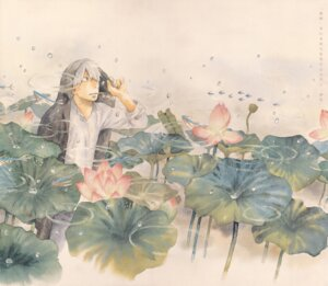 Rating: Safe Score: 3 Tags: ginko male mushishi User: Radioactive