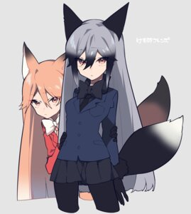 Rating: Safe Score: 26 Tags: animal_ears ezo_red_fox kemono_friends mochizuki_kei pantyhose silver_fox tail User: nphuongsun93