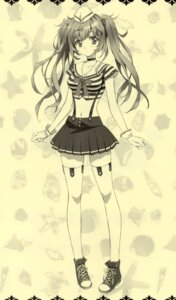 Rating: Questionable Score: 38 Tags: carnelian cleavage monochrome thighhighs User: DDD