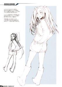 Rating: Safe Score: 4 Tags: fujishima monochrome raving_phantom sketch User: Hatsukoi