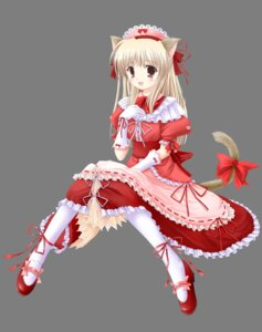 Rating: Safe Score: 15 Tags: animal_ears funyo honobonoan maid nekomimi transparent_png User: Radioactive
