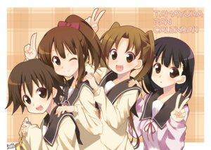 Rating: Safe Score: 16 Tags: hanawa_kaoru hoppege okazaki_norie sakurada_maon sawatari_fuu seifuku tamayura_~hitotose~ User: fairyren