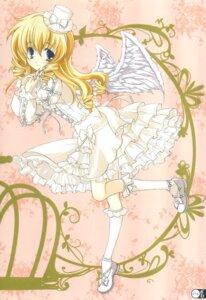 Rating: Safe Score: 24 Tags: lolita_fashion wings yukiwo User: Jack·Bauer