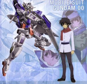 Rating: Safe Score: 9 Tags: gundam gundam_00 male mecha setsuna_f_seiei User: Sangwoo
