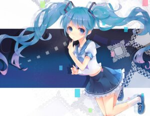 Rating: Safe Score: 30 Tags: hatsune_miku tukino vocaloid User: Radioactive