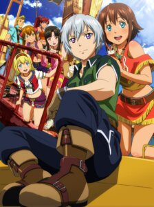 Rating: Safe Score: 30 Tags: amy_(gargantia) bellows cleavage grace_(gargantia) ledo melty_(gargantia) pinion saaya_(gargantia) suisei_no_gargantia User: saemonnokami