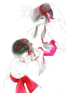 Rating: Safe Score: 2 Tags: kakinouchi_narumi miyu vampire_princess_miyu watercolor User: Radioactive