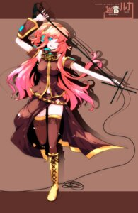 Rating: Safe Score: 22 Tags: ideolo megurine_luka thighhighs vocaloid User: cheese