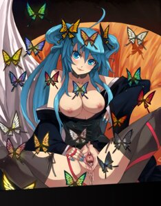 Rating: Explicit Score: 90 Tags: breasts caee_penguin cum hatsune_miku nipples no_bra nopan pussy thighhighs uncensored vocaloid User: Nazzrie