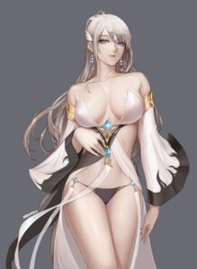 Rating: Questionable Score: 105 Tags: bra cleavage dungeon_fighter erect_nipples monaim open_shirt pantsu signed User: mash