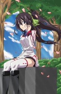 Rating: Safe Score: 41 Tags: infinite_stratos seifuku shinonono_houki tappa thighhighs yatanuko User: charunetra