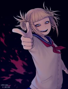 Rating: Safe Score: 10 Tags: boku_no_hero_academia keiid seifuku sweater toga_himiko User: charunetra