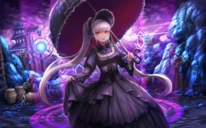 Rating: Safe Score: 23 Tags: dungeon_fighter gothic_lolita lolita_fashion lunacle umbrella User: Mr_GT