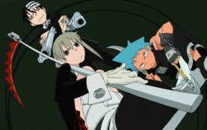 Rating: Safe Score: 7 Tags: black_star death_the_kid maka_albarn soul_eater User: Radioactive