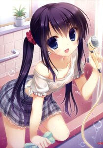 Rating: Questionable Score: 153 Tags: loli nipples no_bra see_through wet_clothes yukie User: Twinsenzw