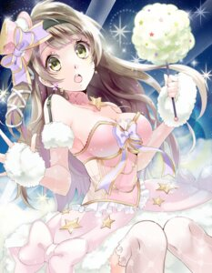 Rating: Safe Score: 62 Tags: cleavage dress love_live! minami_kotori thighhighs yache User: Mr_GT