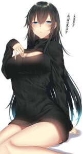 Rating: Safe Score: 58 Tags: cleavage onineko-chan sweater User: hiroimo2