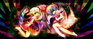 Rating: Safe Score: 4 Tags: flandre_scarlet kinoko remilia_scarlet touhou User: yumichi-sama