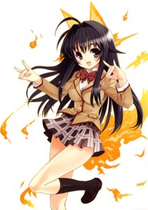Rating: Safe Score: 23 Tags: animal_ears kanokon kitsune koin minamoto_chizuru seifuku tail User: uguu~