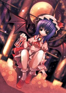 Rating: Safe Score: 8 Tags: catbell remilia_scarlet touhou wings User: fireattack