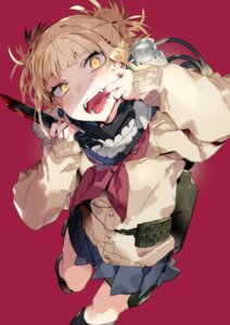 Rating: Safe Score: 23 Tags: boku_no_hero_academia karei seifuku sweater toga_himiko weapon User: Dreista