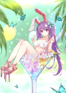 Rating: Safe Score: 21 Tags: animal_ears bikini_top bunny_ears diving_penguin reisen_udongein_inaba swimsuits touhou wet User: Mr_GT