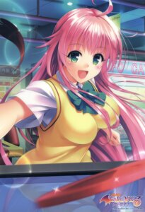 Rating: Safe Score: 52 Tags: lala_satalin_deviluke seifuku to_love_ru to_love_ru_darkness yabuki_kentarou User: DDD