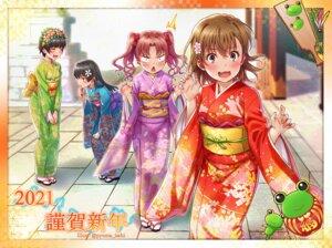 Rating: Safe Score: 15 Tags: kimono misaka_mikoto puma_(hyuma1219) saten_ruiko shirai_kuroko to_aru_kagaku_no_railgun to_aru_majutsu_no_index uiharu_kazari User: Mr_GT