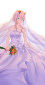Rating: Safe Score: 26 Tags: darling_in_the_franxx dress horns tiarii_art wedding_dress zero_two_(darling_in_the_franxx) User: Spidey