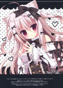 Rating: Safe Score: 23 Tags: animal_ears gothic_lolita hasune hasuneya lolita_fashion nekomimi tail User: kiyoe