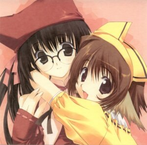 Rating: Safe Score: 8 Tags: cut_a_dash!! megane mitsumi_misato paper_texture User: fireattack